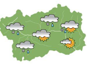 La previsione per la mattina di sabato 26.