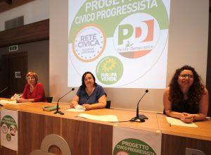La presentazione del Progetto Civico Progressista, un anno fa