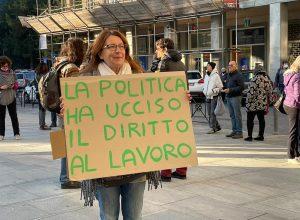 Protesta in regione