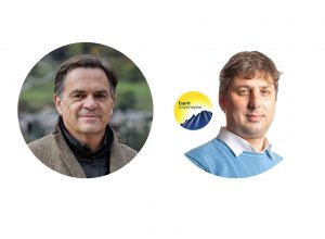 Roberto Rota e Stefano Miserocchi - Candidati Sindaci Courmayeur
