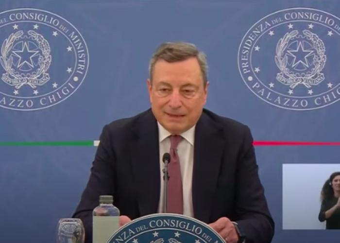 Premier Mario Draghi