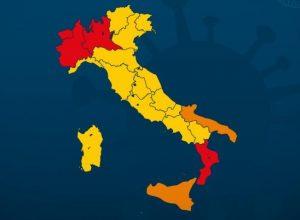 Suddivisione in zone Italia