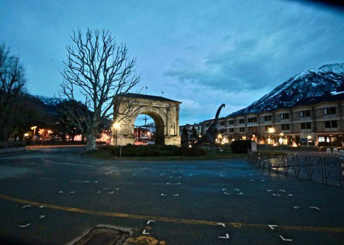 Arco d'Augusto - Foto di Massimiliano Riccio