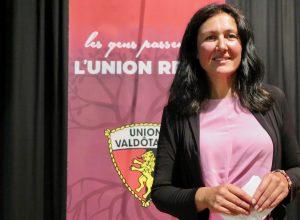 Cristina Machet, Presidente dell'Union Valdôtaine