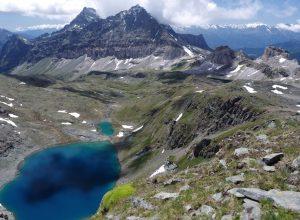 Vallone Cime Bianche con Gran Lago
