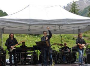 Samuele Bersani e la sua band