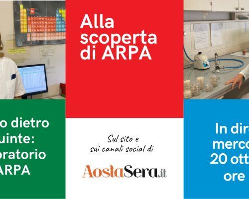 """""""Viaggio dietro le quinte: il ruolo del laboratorio di ARPA nella produzione di dati"""""""