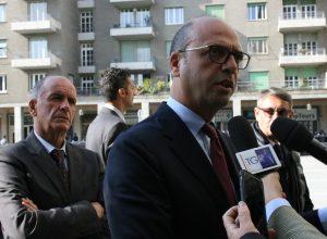 Angelino Alfano e Augusto Rollandin
