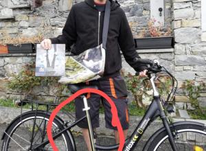 bici elettrica senza batteria