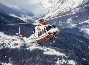 Elicottero Soccorso Alpino Valdostano