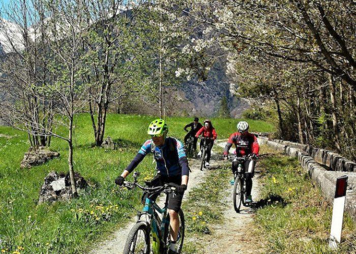 In e-bike nella Valtournenche