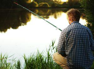 pescatore (foto d'archivio)
