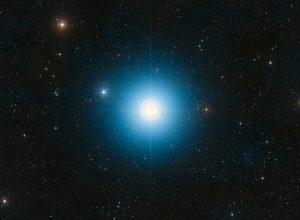 La stella Fomalhaut, nella costellazione del Pesce Australe