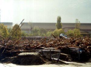 Alluvione del 2000 al quartiere Dora