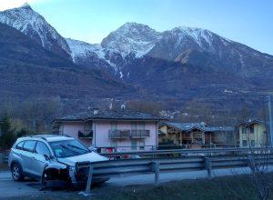L'incidente stradale al bivio per Villefranche.