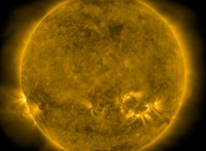 Protagonisti del solstizio: il Sole ripreso oggi alle ore 02.57 dalla sonda Solar Dynamics Observatory