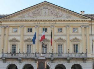 Il municipio di Aosta