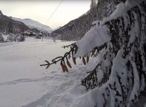 Immagine di archivio - Neve in Valsavarenche