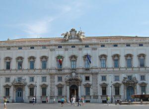 Il Palazzo della Corte Costituzionale
