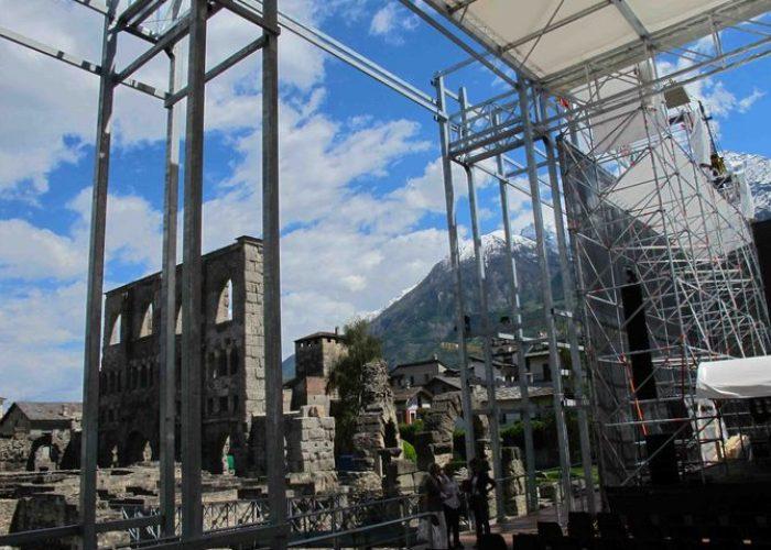 Area spettacoli Teatro romano